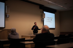 Campus Police Chief holds Active Shooter Survival Seminar