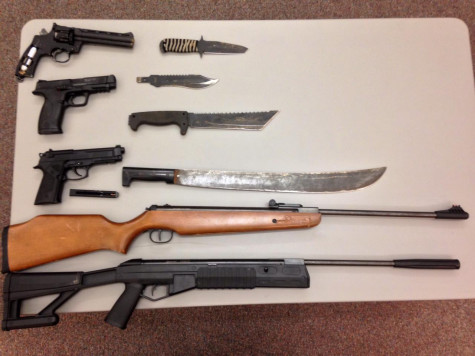 Weapons possession arrests on campus: Update