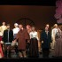"The cast of ""The Cherry Orchard"" takes a bow after a performance filled with humor, pathos and issues of class."
