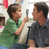 Ellar Coltrane grows up on-screen as Mason, a reserved and curious boy, alongside Ethan Hawke, who plays his father.