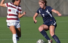 Women's soccer upset at home; drops first conference game