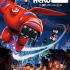 """Baymax and Hiro flying over the streets of San Fransokyo in """"Big Hero 6."""""""