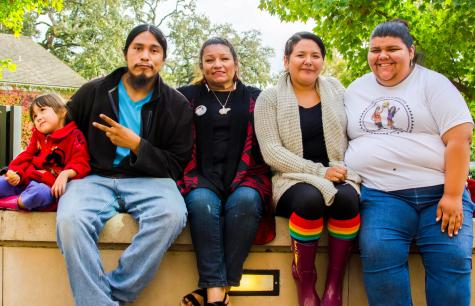 Native American students celebrate heritage