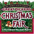 The official logo for this year's Dickens Christmas Fair.