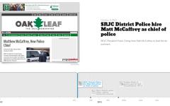 SRJC Police Timeline 2012-Present