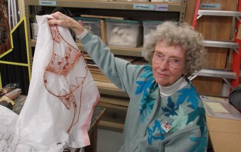 94-year-old SRJC student creates art