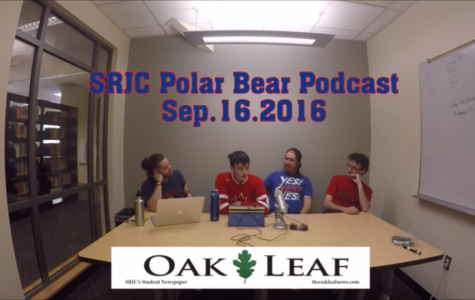 Four Dudes, One Cup: The SRJC Polar Bears Podcast – September 16, 2016