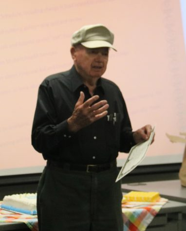 SRJC instructor and War Hero Turns 90