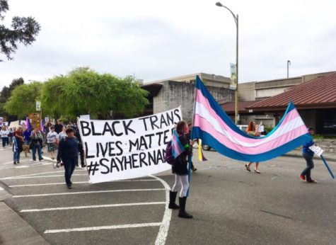 Santa Rosa march for transgender students