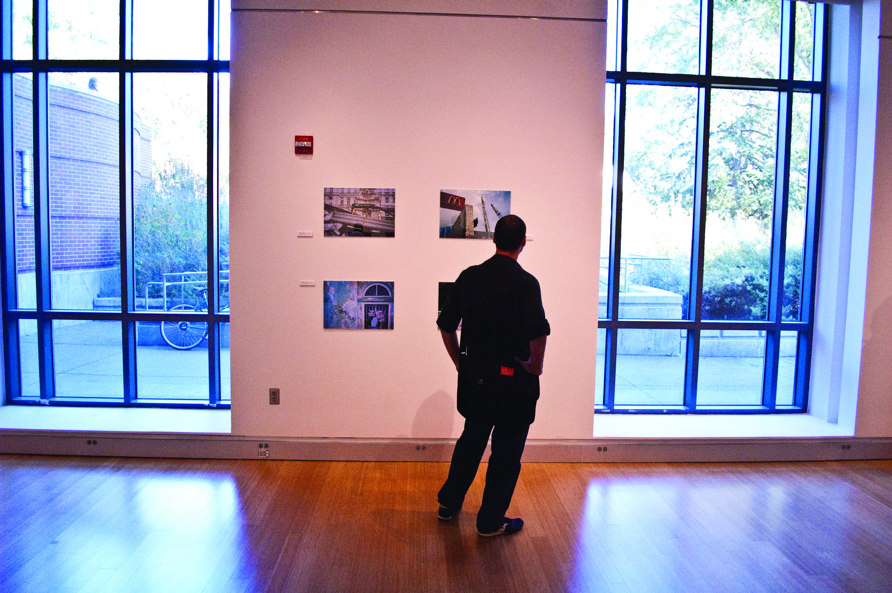 The Time Travel Gallery opened Sept. 22 and runs until Oct. 22 at the bottom floor of the SRJC library.