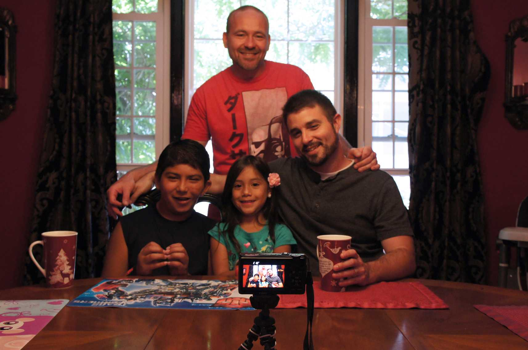 """Photo courtesy of Jay Leffew """"The Right To Love,""""  an upcoming documentary, features the story of the Leffew family: Daniel, Jay, Selena and Bryan."""