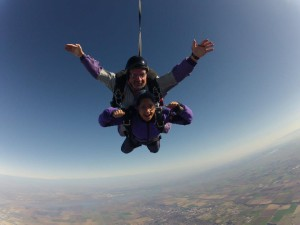 Taking the Leap on my 18th Birthday: Falling Beyond the Face of Fear