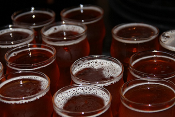 People come from all across the world to try the Triple IPA Pliny at Russian River Brewing Company each spring.