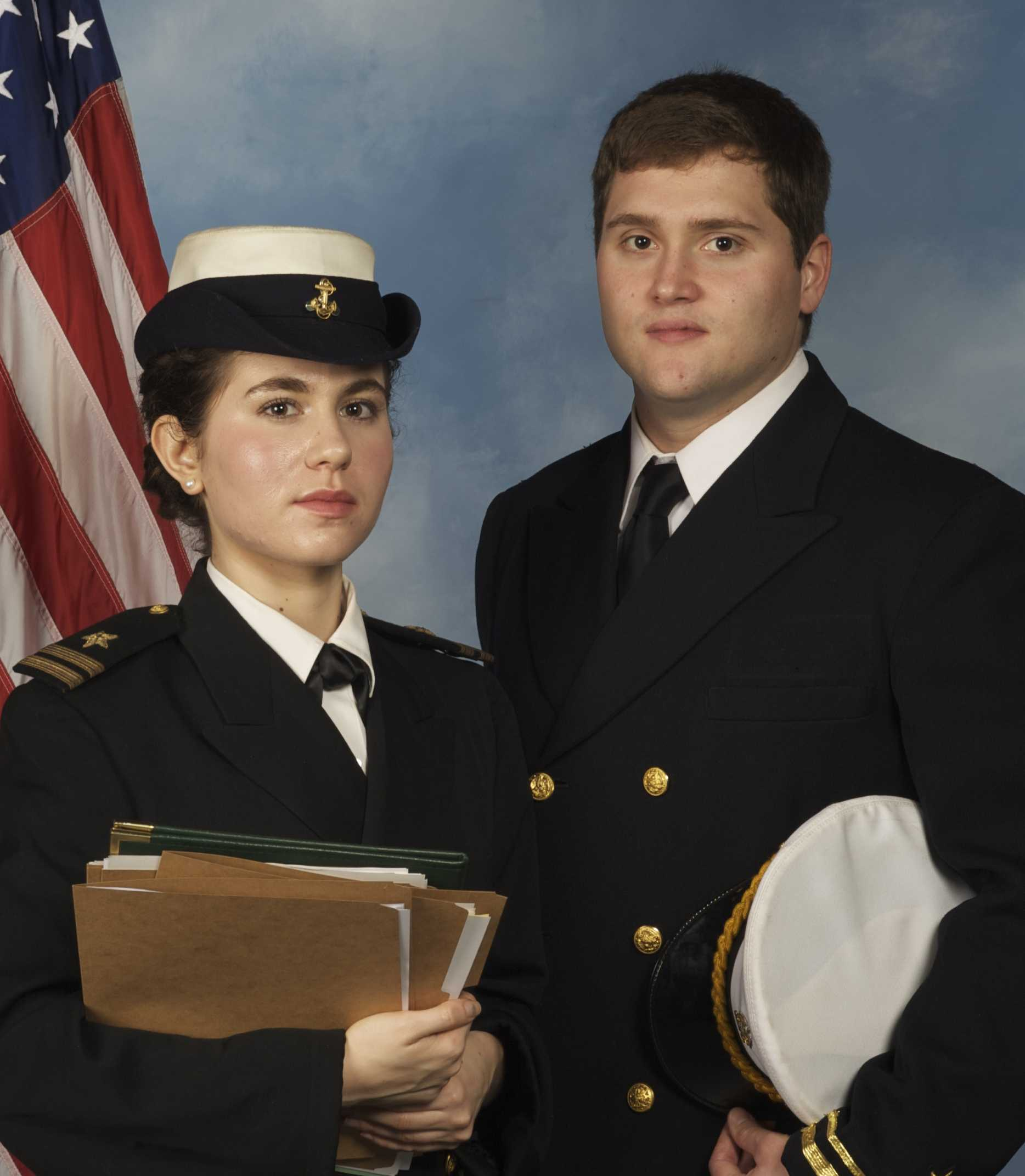 Rosella Bearden and Justin Brown both deliver excellent performances as the two protagonists of Aaron Sorkin's A Few Good Men, directed here at SRJC by Laura Downing-Lee. The show runs March 8-17.