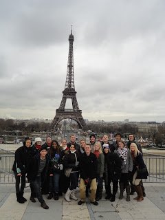SRJC students travel abroad to Barcelona, Paris and Rome.