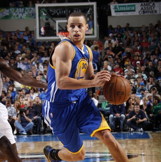 Warriors superstar point guard, Stephen Curry, is one of the major all-star snubs in the 2012-13 NBA season. Curry is leading his team through the postseason.