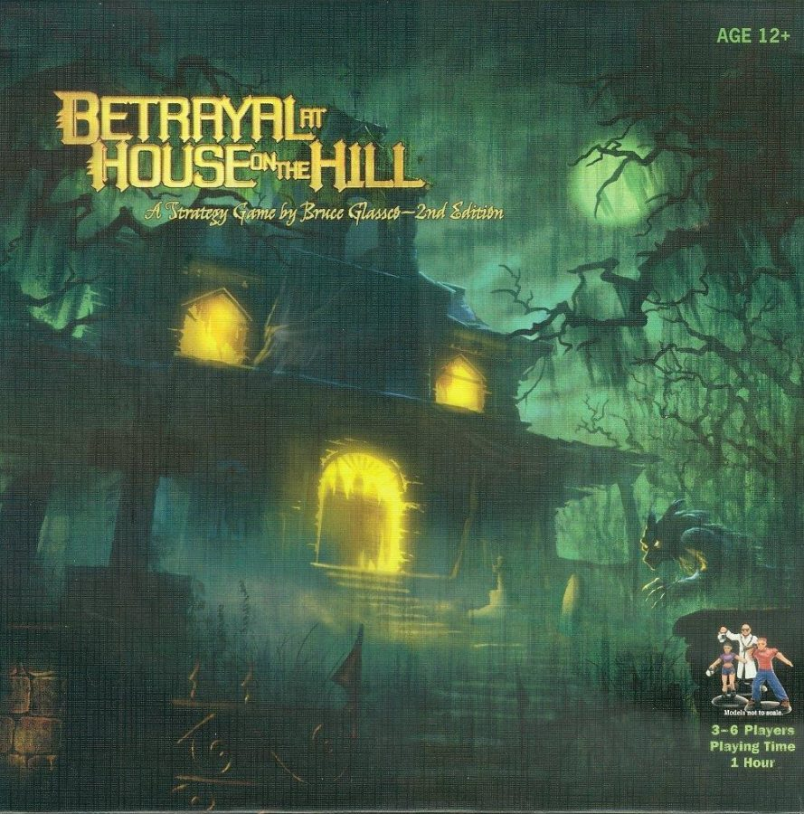 The 2010 updated edition of the game features spookier cover art and good ambiance for starting up the game.
