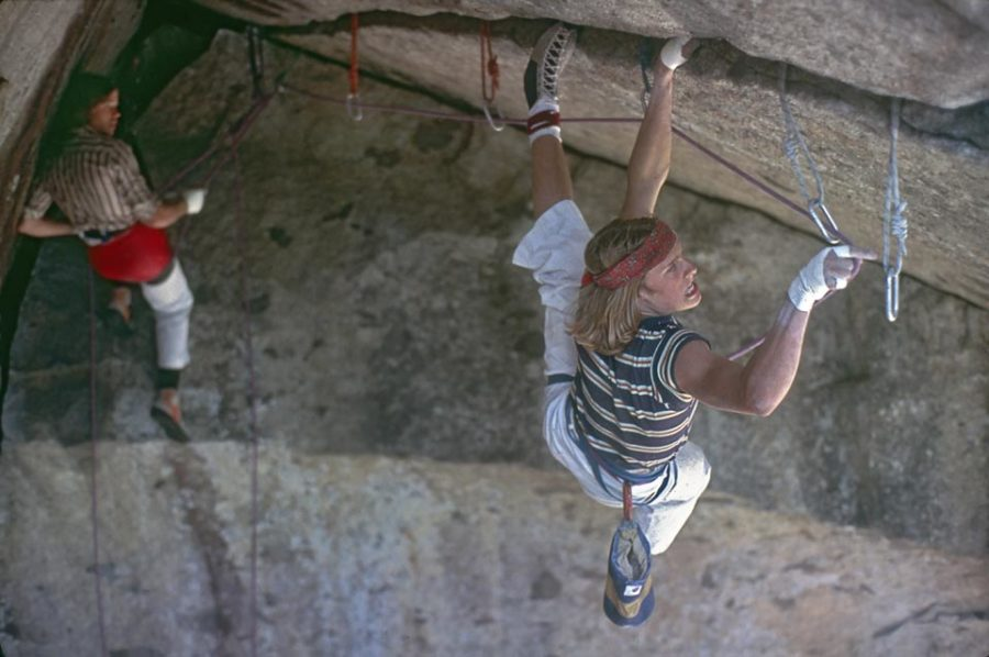 The+%E2%80%9970s+climbers+dubbed+the+%E2%80%9CStone+Masters%E2%80%9D+climbed+without+aides+and+only+a+rope+for+protection%2C+a+style+known+as+%E2%80%9Cfree+climbing.%E2%80%9D+