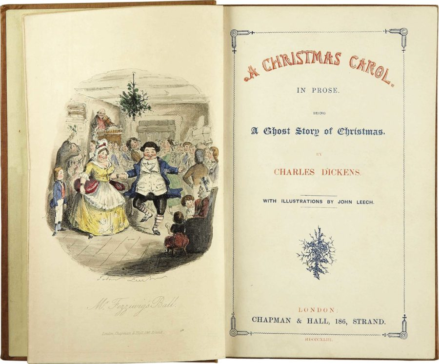 The original Dickens work that started it all, pictured in all its glory.