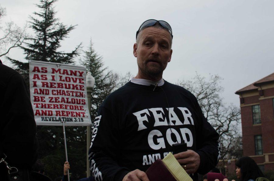 Street preachers spark student retaliation