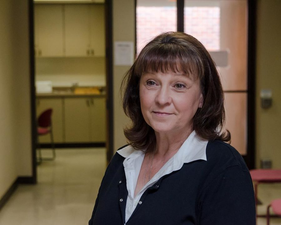 Joanie Dybach, administration of justice instructor, hopes to raise money for Nepal.
