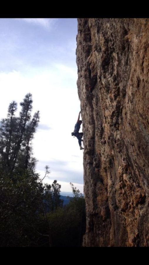 SRJC+student+Nathan+Johnson+spends+his+free+time+in+nature+rock+climbing.+