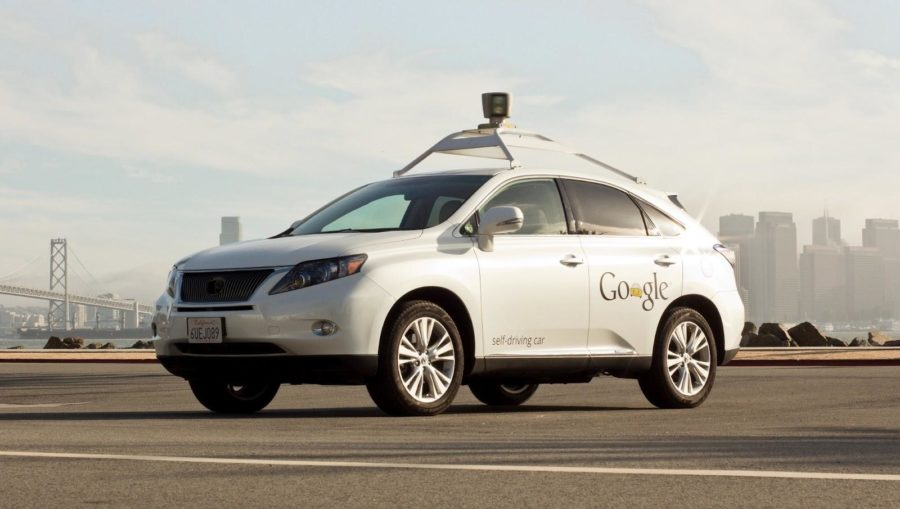 Google promotes self-driving cars.