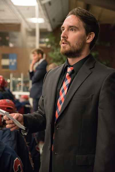 Blake Johnson returns to lead a Polar Bears hockey squad looking to win a second consecutive championship.