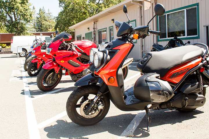 Students+who+ride+motorcycles+have+designated+parking+spots+on+campus+where+parking+is+readily+available.