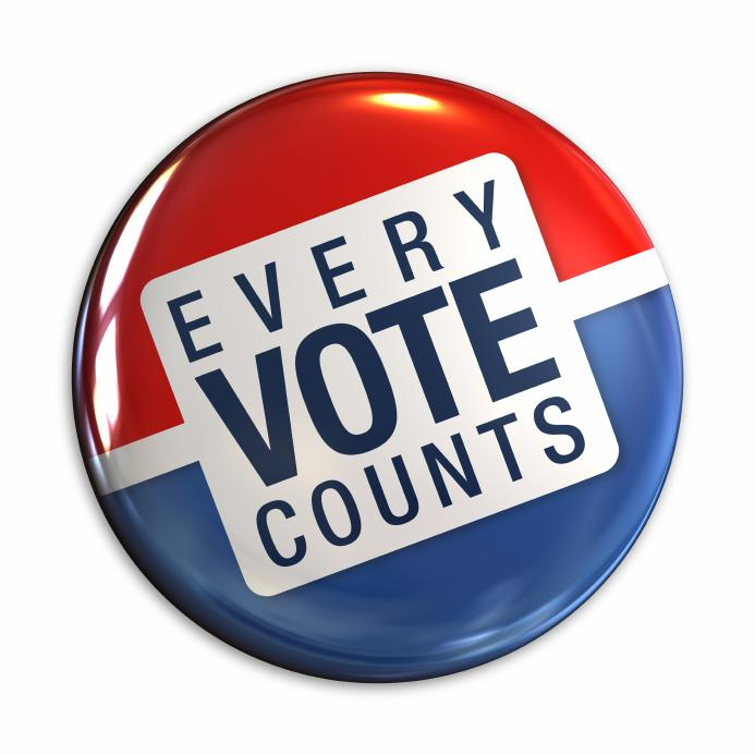 Students are discouraged to vote because many don't see the correlation to their community or they don't think their vote makes a difference.