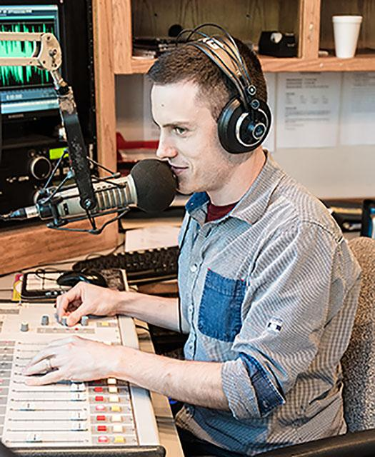 Radio Dano also has a passion for sports, specifically hockey, and co-hosts a sports broadcast at 4 p.m. Saturdays on KSRO 1350.