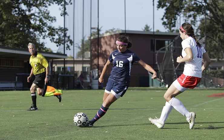 SRJC Womens Soccer Match .