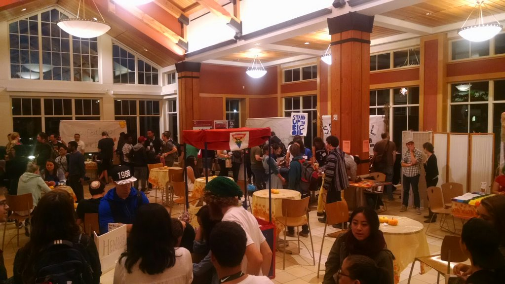 Students and faculty flooded the Bertolini dining commons for SRJC's third annual Wellness Fair Oct. 29.