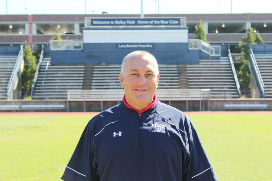 SRJC+Athletic+Director+Matthew+Markovich+works+to+keep+athletes+positively+involved+in+the+community.