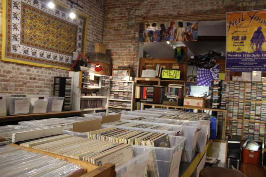 The Thrifty Hippy has vintage records for music aficionados with a taste for retro.