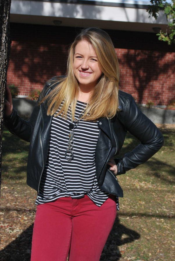 Katie Manzel takes an hour and a half to get ready for school and shows personal style between classes at  the SRJC.
