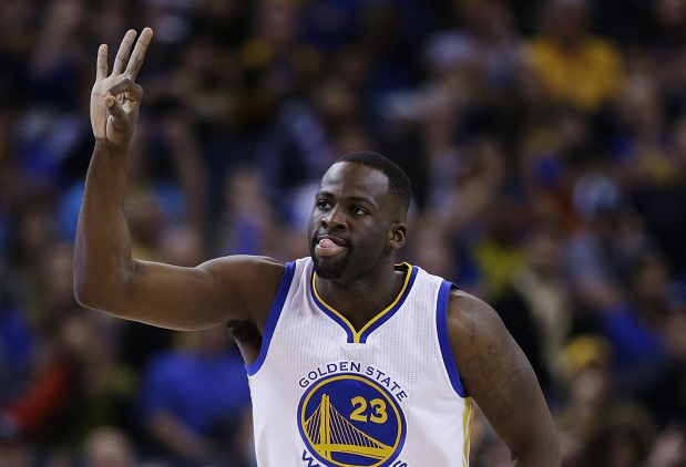 Draymond Green remains under the spotlight of Stephen Curry despite monstrous numbers.