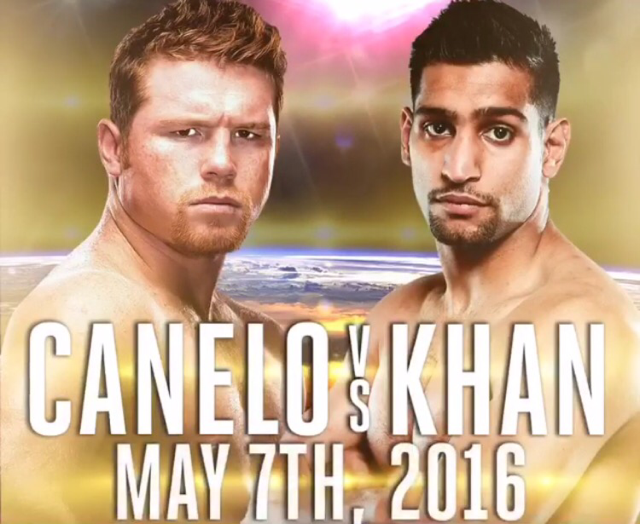 Saul Canelo Alvarez will square off with Amir Khan for the middleweight title May 7, amongst controversey from fans who say there is a significant weight difference between the two fighters.