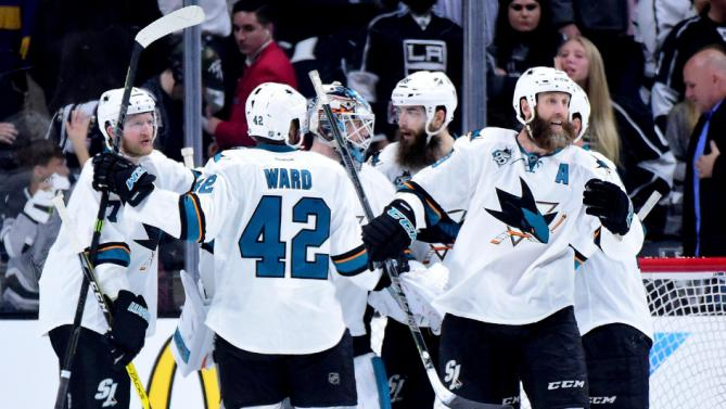 Sharks+Playoff+Report%3A+Pavelski+scores+two+as+Sharks+beat+Kings+4-3+in+game+1