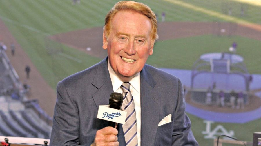 Dodgers' broadcaster Vin Scully ends his 67-year career after the 2016 MLB season. Scully owns the MLB record for youngest broadcaster to call the World Series; he did so at the age of 25.