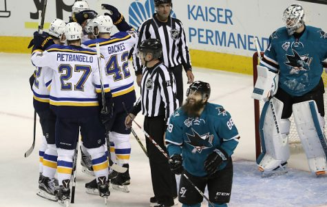 Sharks Playoff Report: Blues blast Sharks 6­-3 in Game 4