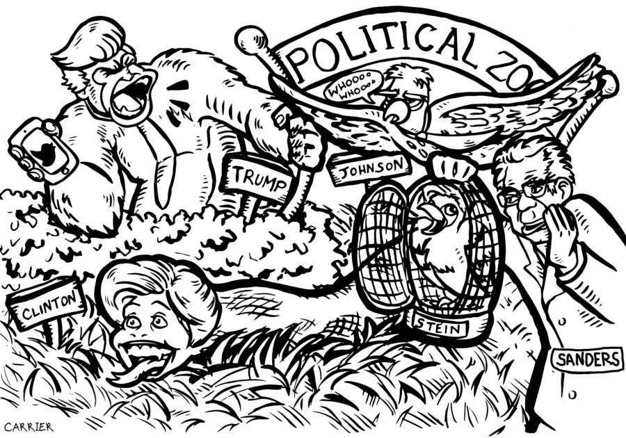 Presidential Spotlight, Political Zoo