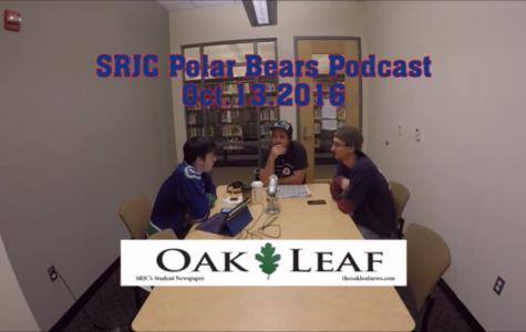 The Chosen One – SRJC Polar Bears Podcast (October 13, 2016)