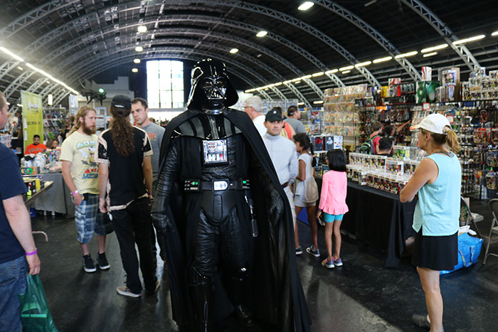 Some participants at this years Toy Con chose to cosplay.