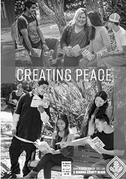 Creating Peace: SRJC students write letters to future generations in new book