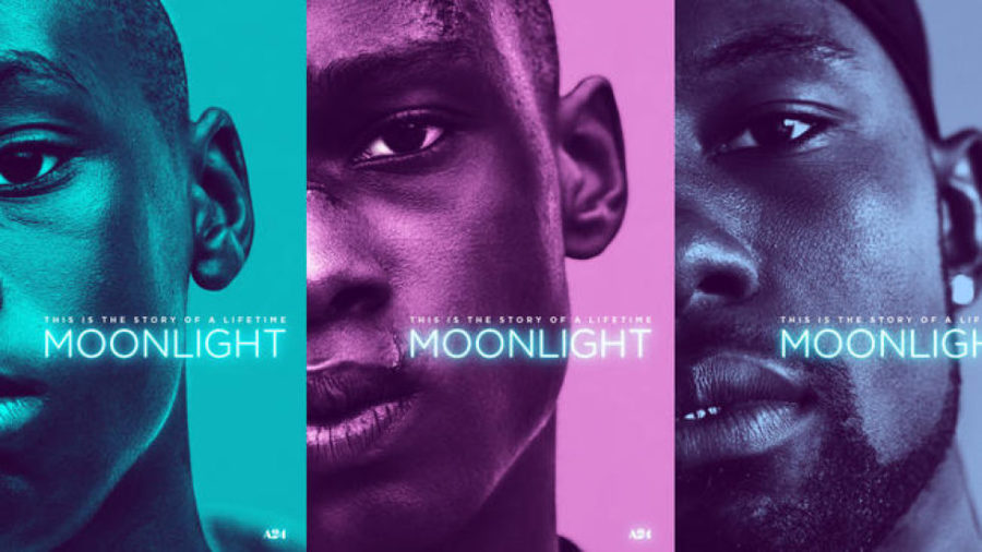 """""""Moonlight,"""" the coming-of-age odyssey directed by Barry Jenkins, swept the Oscars with adapted screenplay, supporting actor and best picture wins."""