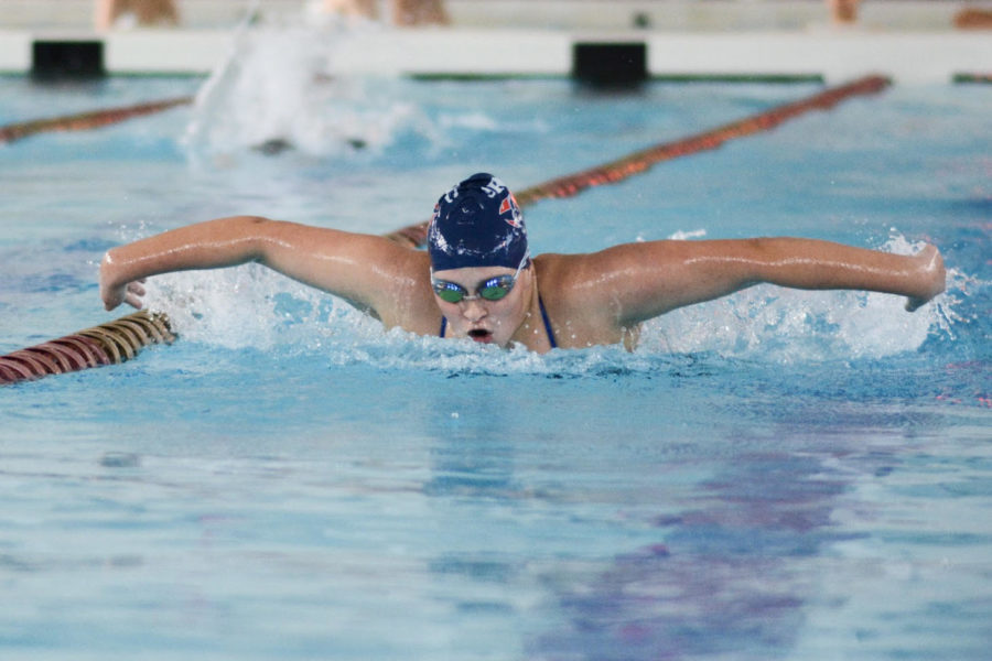 Fun, success at Los Rios Invitational for SRJC swim teams