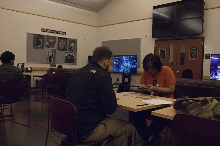 SRJC+students+play+board+games+and+video+games+to+relieve+stress+at+the+various+clubs+located+on+the+Petaluma+Campus.
