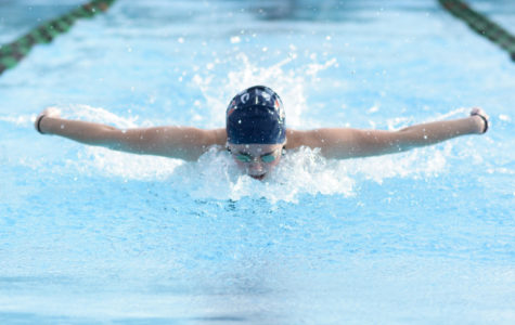 Swim and dive cleans up at Cuesta Invitational