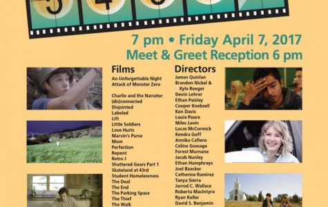 A night of shorts : The 9th Annual Sonoma County Student Film Festival commences!